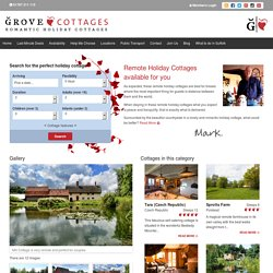Remote Holiday Cottages