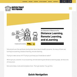 Elearning - Ditch That Textbook