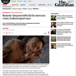 Remote Amazon tribe hit by mercury crisis, leaked report says