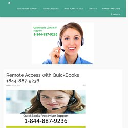 Remote Access with QuickBooks - qbtech-support.com