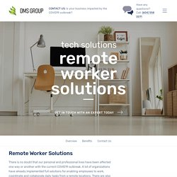 Remote Worker Solutions – DMS Group