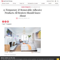 Best Removable Adhesive Products for Renters