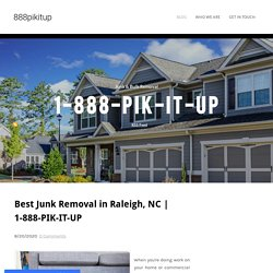 Best Junk Removal in Raleigh, NC