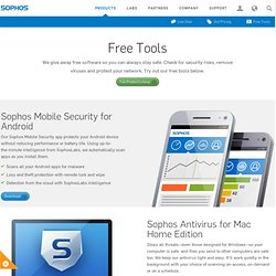 Free Encryption Tool for File and Data Encryption | Sophos Free Tools