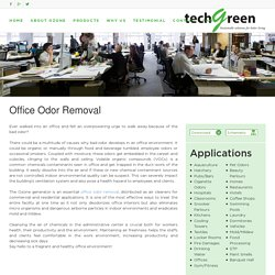 Office Odor Control - Techgreensolution