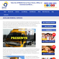 Removals Auckland - House and Commercial Removals Auckland