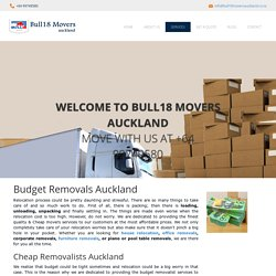 Budget Removals Auckland - Cheap Removalists Auckland