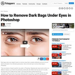 How to Remove Dark Bags Under Eyes in Photoshop