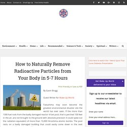 Remove Radioactive Particles from Your Body in 5-7 Hours