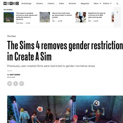 Sims 4 update removes gender restrictions on clothes