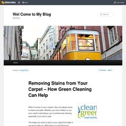 Clean Green Carpet Cleaning in Utah
