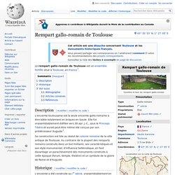 Rempart gallo-romain de Toulouse