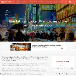 Une I.A. remplace 34 employés d'une assurance au Japon - Tech