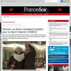 Vérone: un drone remplace Cupidon pour la Saint-Valentin (VIDEO)