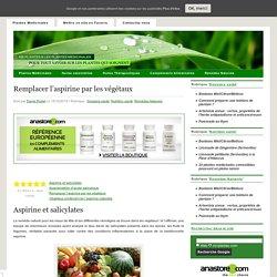 Remplacer l'aspirine par les végétaux