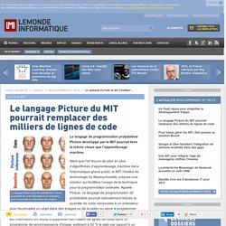 Le langage Picture du MIT pourrait remplacer des milliers de lignes de code