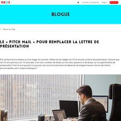 """Le """"pitch mail"""" pour remplacer la lettre de présentation"""