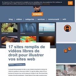 17 sites remplis de vidéos libres de droit pour illustrer vos sites web