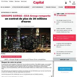 GROUPE GORGE : ECA Group remporte un contrat de plus de 20 millions d'euros