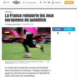 LIBÉRATION - La France remporte les Jeux européens de quidditch