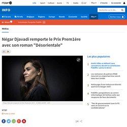 Négar Djavadi remporte le Prix Première (RTBF)