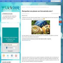 Remportez vos places sur Annuairedu.com !