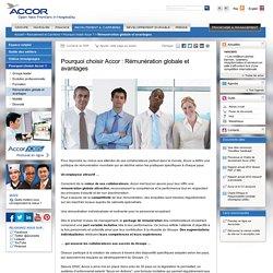 Pourquoi choisir Accor : Rémunération globale et avantages