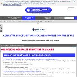 Règles en matière de rémunération : aide à la gestion des ressources humaines avec CCI France
