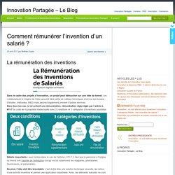 Comment rémunérer l'invention d'un salarié ? - Innovation Partagée - Le Blog
