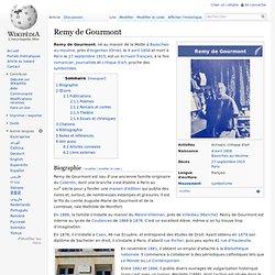 Remy de Gourmont