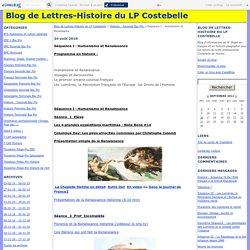 Séquence I : Humanisme et Renaissance - Blog de Lettres-Histoire du LP Costebelle