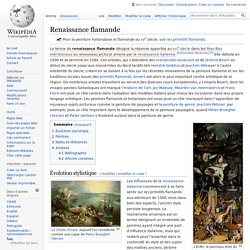 Renaissance flamande