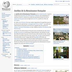 Jardins de la Renaissance française