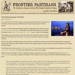 La religion / article de Frontier Partisans, 2014