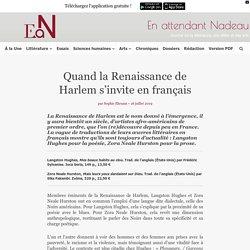 Quand la Renaissance de Harlem s'invite en français