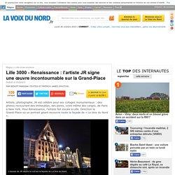 Lille 3000 - Renaissance : l'artiste JR signe une œuvre incontournable sur la Grand-Place