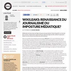Une renaissance du journalisme ?