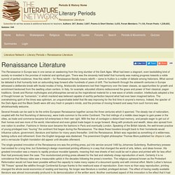 Renaissance Literature - Literature Periods & Movements