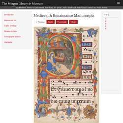 Gradual, MS M.653 no. 1 (I.8) - Images from Medieval and Renaissance Manuscripts - The Morgan Library & Museum
