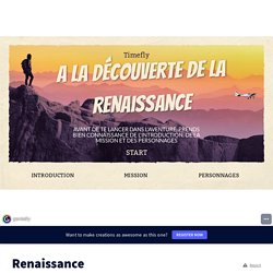 Renaissance by nanou11111 on Genially