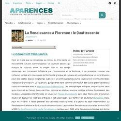 La Renaissance à Florence : le Quattrocento