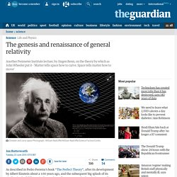 The genesis and renaissance of general relativity