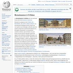 Renaissance à Urbino