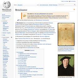 Renaissance (période historique)