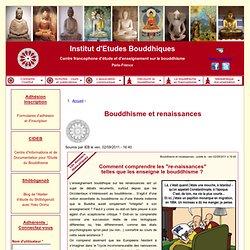 Bouddhisme et renaissances