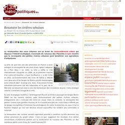 Renaturer les rivières urbaines