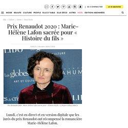 Prix Renaudot 2020 : Marie-Hélène Lafon sacrée pour « Histoire du fils »...