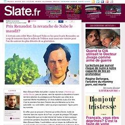 Prix Renaudot: la revanche de Nabe le maudit?