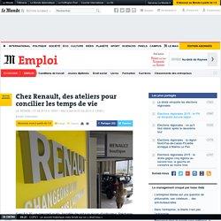 Chez Renault, des ateliers pour concilier les temps de vie