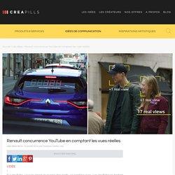 Renault concurrence YouTube en comptant les vues réelles
